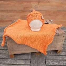 Tejoloquehilo.es_Conjunto Pumpking Naranja